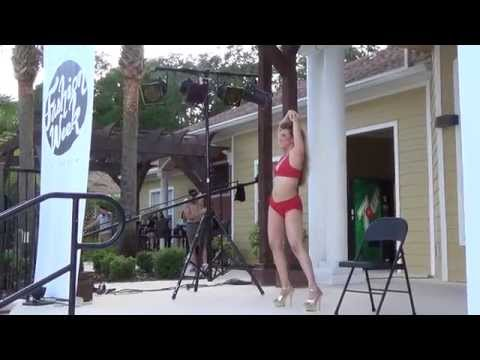 "Jacqueline Valdez  ""Pole Ballerina"" Haute"" Gainesville Fashion"