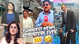Funniest News Reporters Fails