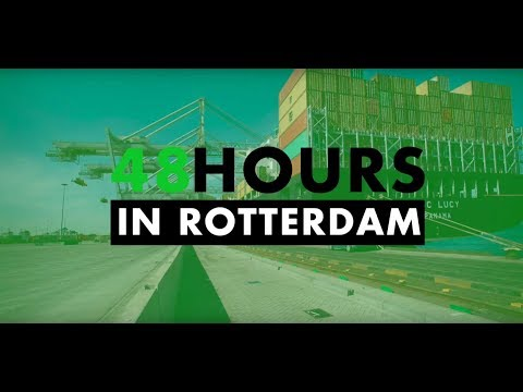48 HOURS IN ROTTERDAM - Harbour & Nature: Tommy & Mirte