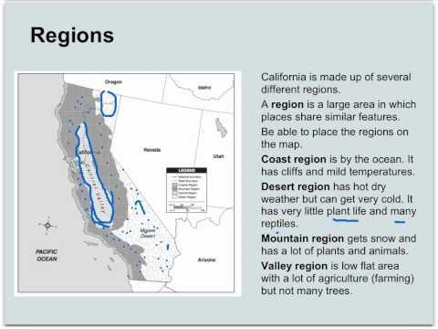 Regions of California