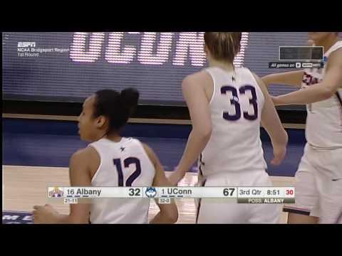 UConn Women's Basketball vs Albany Highlights