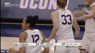 UConn Women's Basketball vs Albany Highlights