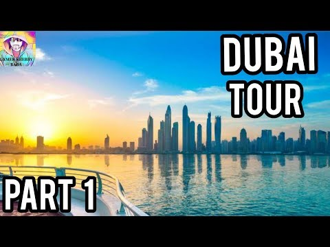 Welcome To Dubai Tour Part 1 | Atlantis Palm Jumeirah | Jumeirah Beach