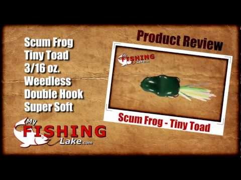 Scum Frog - Tiny Toad Lure - My Fishing Lake Review