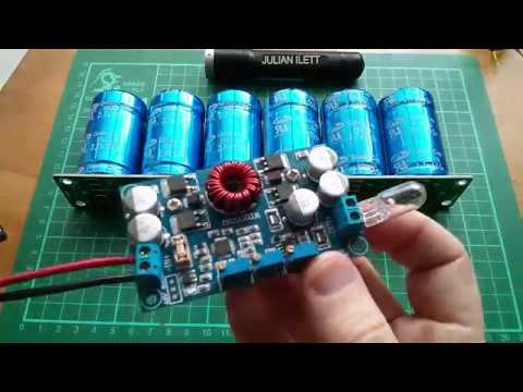 Julian's Postbag: #94 - SuperCapacitors and Battery Charger