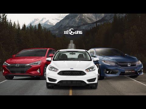 Honda Civic - Hyundai Elantra - Ford Focus: 800 Triệu đến 1 Tỉ Mua Xe Gì???