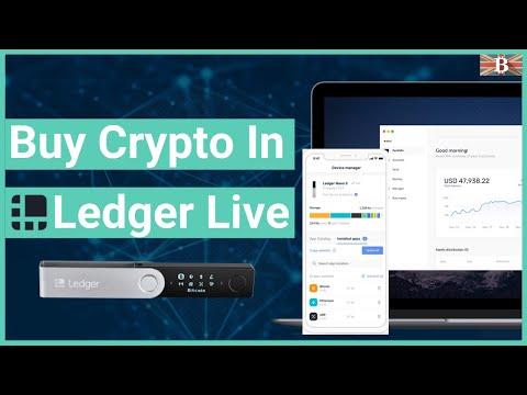 Buy Crypto in Ledger Live – Ledger Live Manager Update 2.5