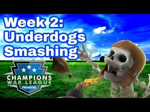 CWL Premiere League Recap | Week 2 | Underdogs Smashing