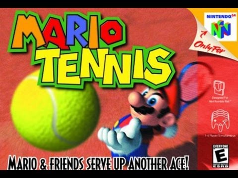 """Mario Tennis-top jogo do nintendo 64!"