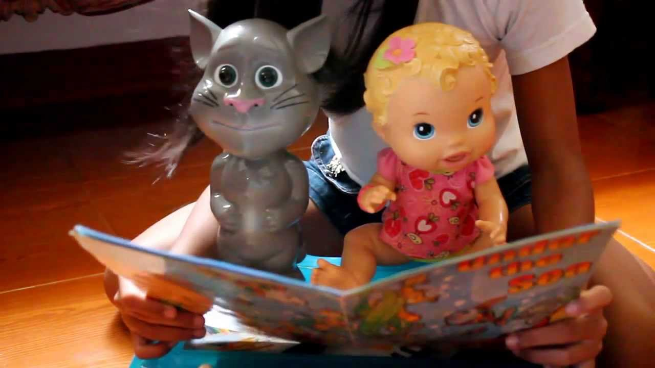 Baby Alive Doll With Talking Tom Story Telling Time