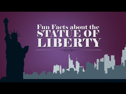 Statue of Liberty Educational Video! Learn fun facts about the Statue of Liberty  for Kids