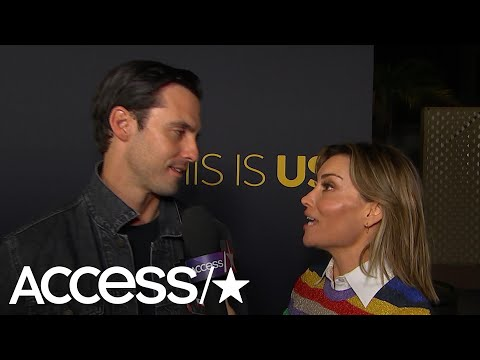 'This Is Us': Milo Ventimiglia Details Jack & Rebecca's Bumpy First Date & Raves About 'Pal' JLo