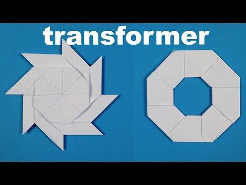 How To Make a Paper Ninja Star Shuriken - Origami Shuriken