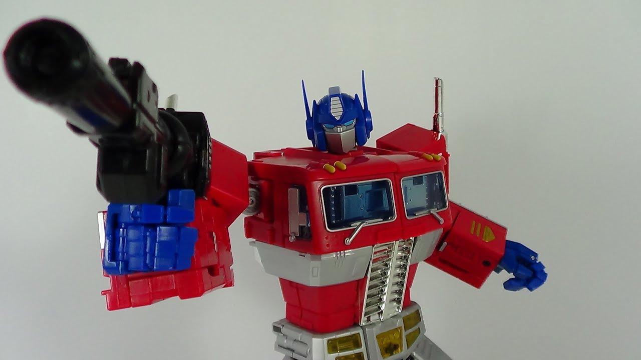 Transformers Masterpiece Optimus Prime Figure Review