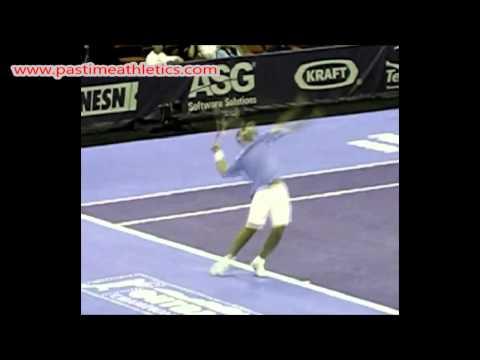 Pete Sampras Slow Motion Tennis Serve - Swing Mechanics ATP Hall of Fame Agassi Nadal Federer