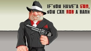 Money Quotes If you have a gun... Animated Explainer Video