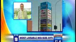Today Show: Ipswich - most liveable city in the world