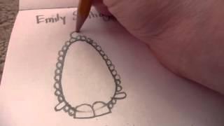 Drawing Shopkins Part 42 Brenda Brooch