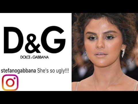 "D&G Designer Calls Selena Gomez ""UGLY""! Sparks Controversy On IG"