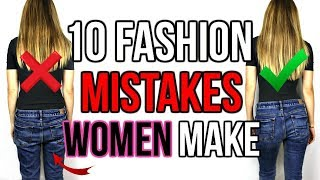 10 FASHION MISTAKES WOMEN ALWAYS MAKE | Shea Whitney Video