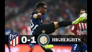 ATLETICO MADRID – INTER 0-1 ✔ All Goals &  Highlights ✔ INTERNATIONAL CHAMPIONS CUP 11/08/2018