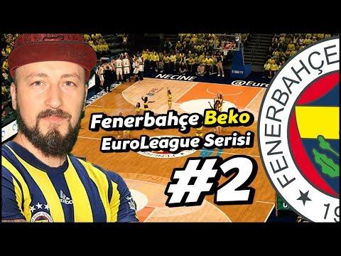 FENERBAHÇE BEKO EUROLEAGUE #2 Ülker Sports Arena'da İlk Maç! 🏀 #unicskazan