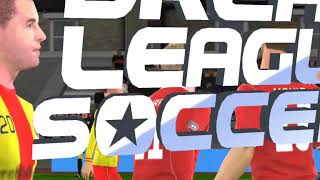 Playing dream league soccer