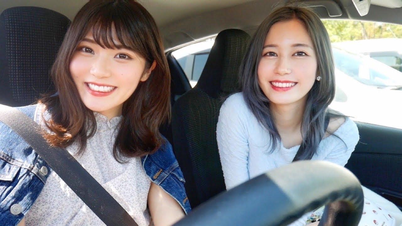 ドライブんぶん🚗💨〜ゆきりぬ姉さんとサービスエリア寄る編〜