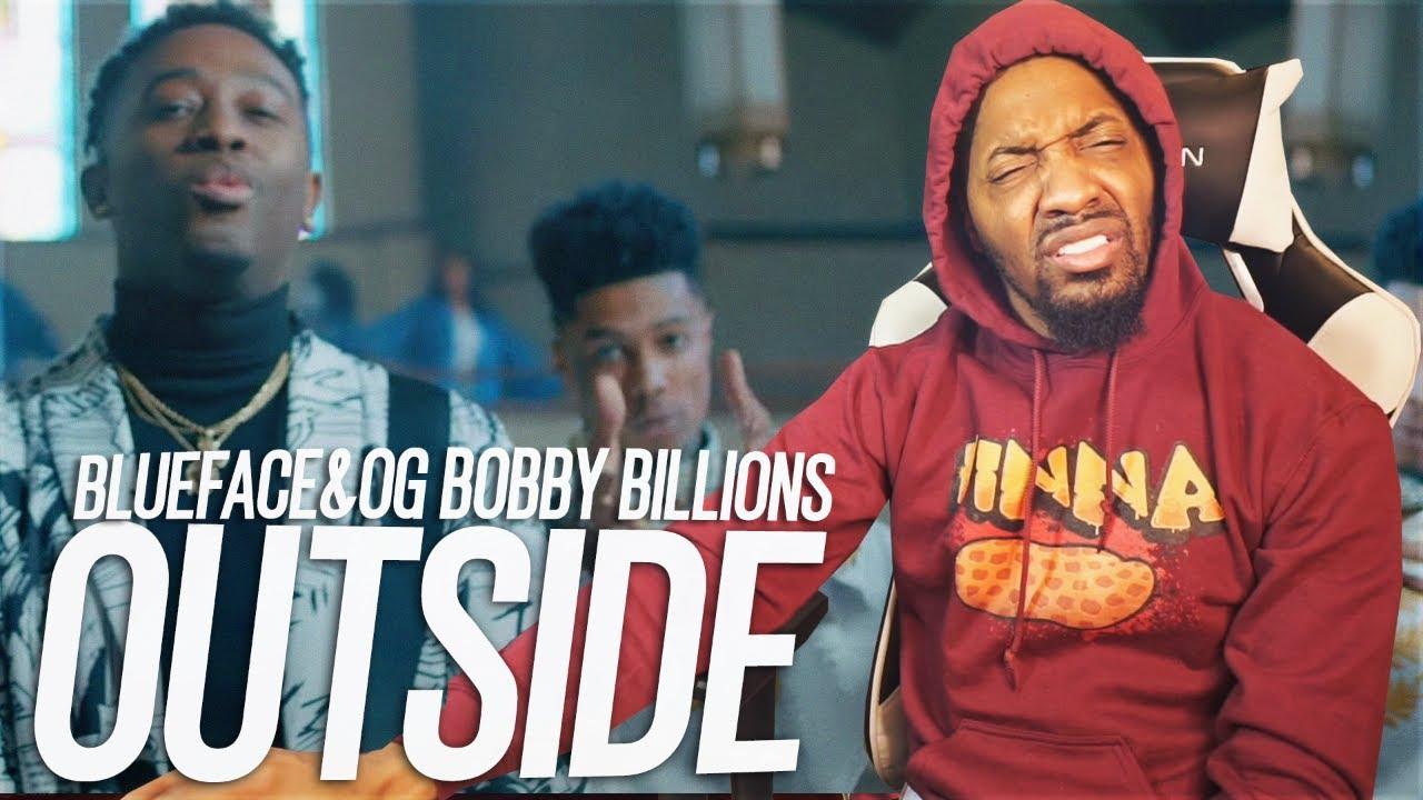 WTF BLUEFACE BEST VERSE!? | Blueface & OG Bobby Billions - Outside (Better Days) (REACTION!!!)