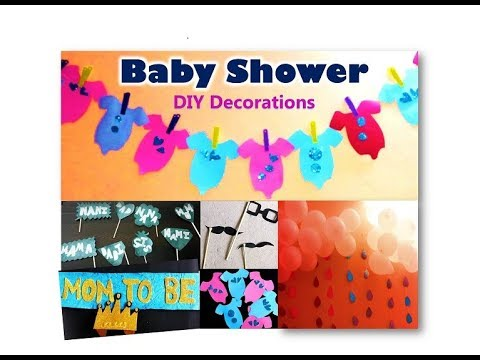Baby Shower Karte Text.Diy Party Decorations Props Ideas For Baby Shower Godh Bharai