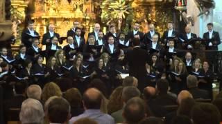 Concierto. Peccantem me quotidie C. Morales. Coro Fund. Princesa Asturias. Iglesia Carmen Cádiz 2015