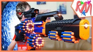 NERF Movie: iCyborg (Part 3) - INFINITY WAR Beginning of the End [NERF Battle in the Future]