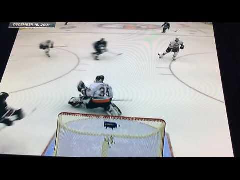 December 28 2001 Oilers at Islanders Jason Chimera's First NHL Goal