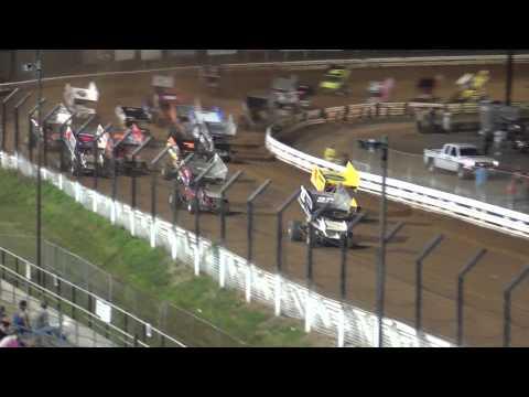 Williams Grove Speedway 410 and URC/358 Sprint Car Highlights 8-02-13