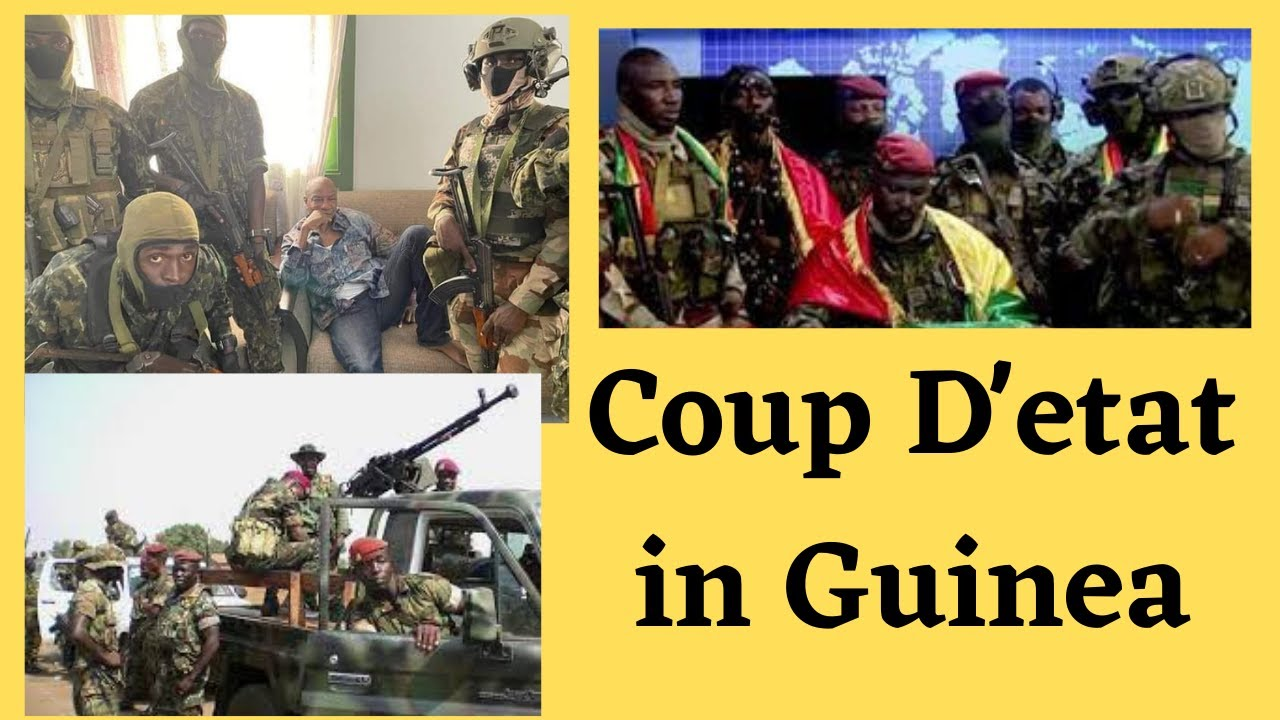 Coup Leader Asks Guinea Army to Back Him, Suspends Constitution