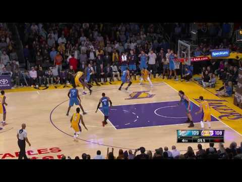 Oklahoma City Thunder at Los Angeles Lakers - November 22, 2016