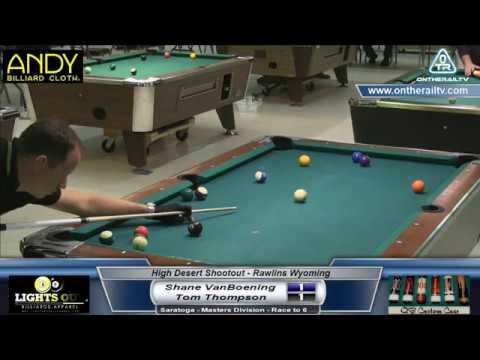 Shane VanBoening vs Tom Thompson - Saratoga - 2017 HDS