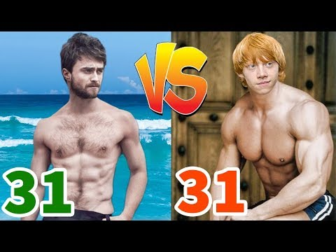 Daniel Radcliffe Vs Ron Weasley Transformation ★ 2020
