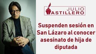 Video Suspenden sesión en San Lázaro al conocer asesinato de hija de diputada. download MP3, 3GP, MP4, WEBM, AVI, FLV November 2018