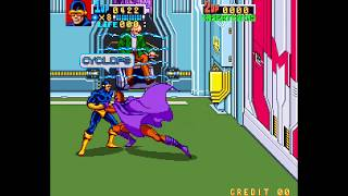 X-Men Arcade cheat アーケード チート ノーミス 最速 Fastest TAS