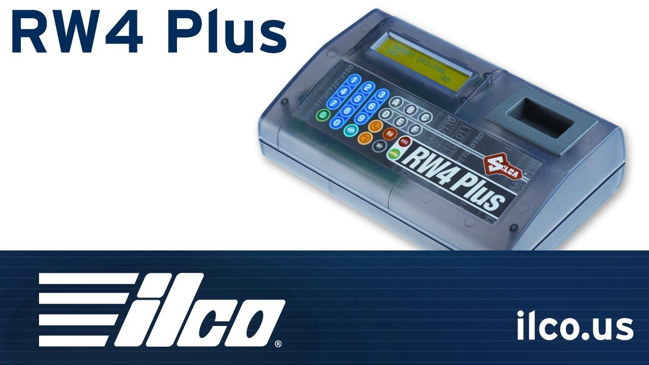 SILCA RW4 PLUS WITH M BOX ILCO BRAND NEW IN THE BOX!
