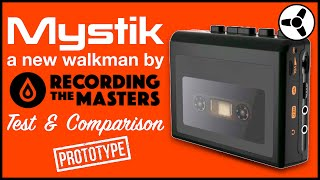 Mystik: New portable tape player by RTM (prototype) tested & compared
