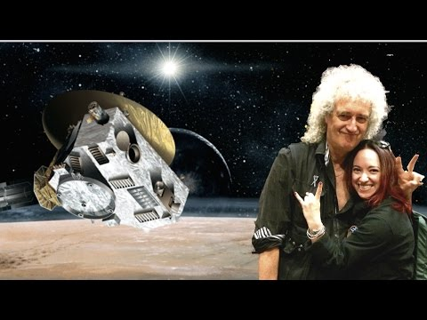 Pluto in a Minute: Dr. Brian May Shows Us How To Really See Pluto