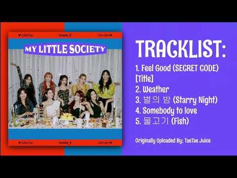 Fromis_9 (프로미스): 3rd Mini Album [My Little Society]