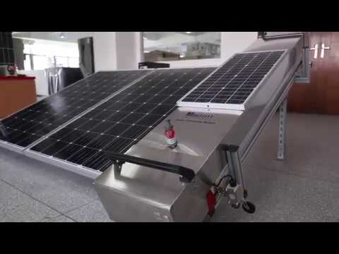 Multifit Solar panel cleaning robot machine business