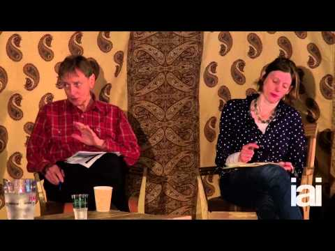 Rupert Sheldrake and Daniel Dennett at Hay on Wye 2014 by IAI