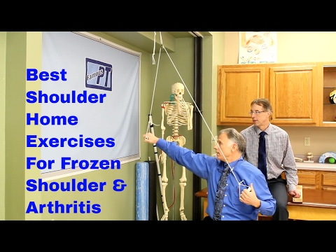 Best Shoulder Home Exercises for Frozen Shoulder & Arthritis (Adhesive Capsulitis & DJD)