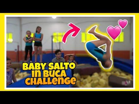 BABY SALTO IN BUCA ginnastica artistica CSB