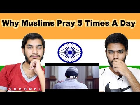 Indian reaction on Why Muslims Pray 5 Times A Day | Swaggy d