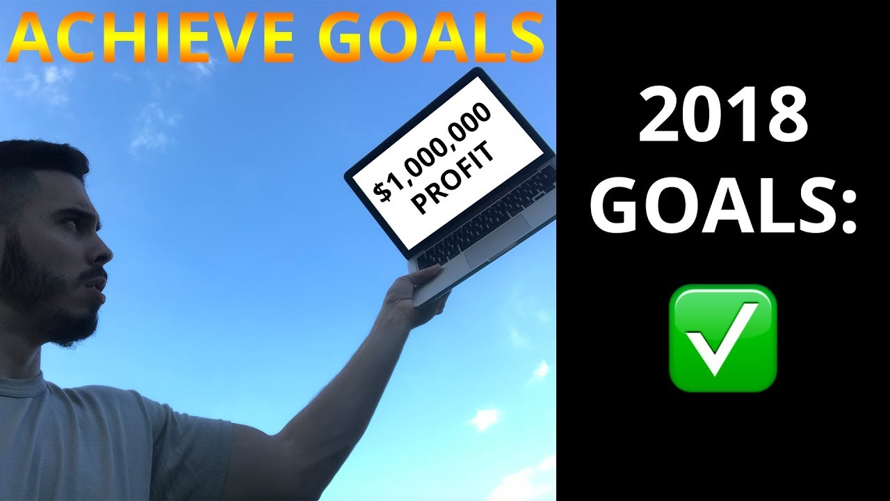 How To Set Goals For Entrepreneurs | Set Goals And Achieve Them | My 2018 Goals